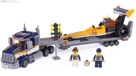 Produk Istimewa Lego City 60151 Dragster Transporter lego city dragster transporter review 60151