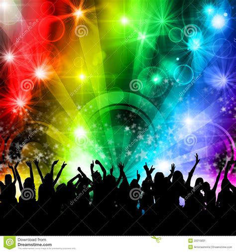 party music dj disco music party people stock image image 22215831