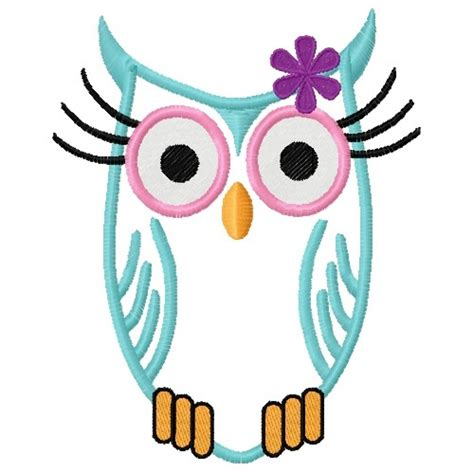 free embroidery applique designs free owl applique embroidery design annthegran
