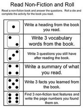 esl printable dice dice games reading and language arts freebie by