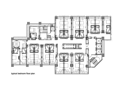 hotel floor plan plans of hotel designs images