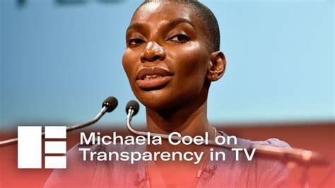 michaela coel edinburgh tv michaela coel talks transparency edinburgh tv festival