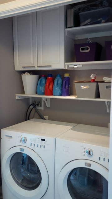 Building Laundry Room Cabinets 25 Ideas For Small Laundry Spaces Remodelaholic Bloglovin