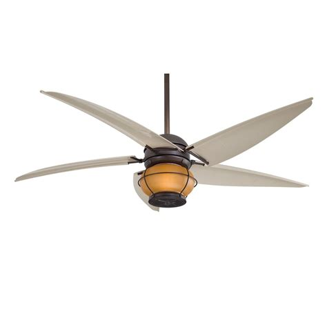 outdoor fan and light minka aire magellan f579 l orb 60 quot outdoor ceiling fan
