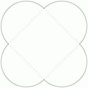 petal card envelope template petal template clipart best