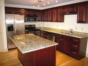 Granite Countertops With Cherry Cabinets 17 Best Images About Santa Cecilia On
