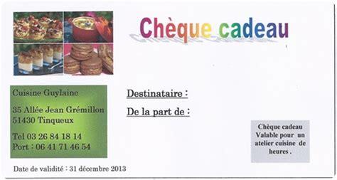 Modele Cheque Cadeau Gratuit A Imprimer