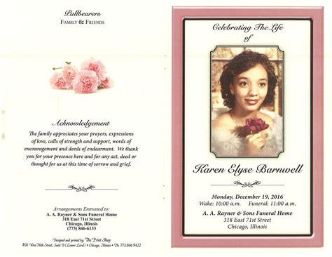 karen elyse barnwell obituary aa rayner and sons funeral