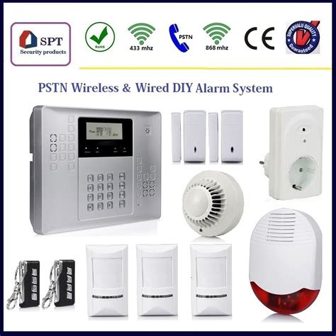 safe home alarm system security wireless house alarm
