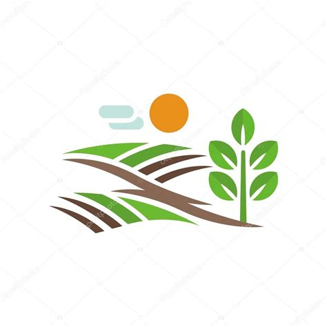 design vector logo illustrator farming logo design vector stock vector 169 friendesigns