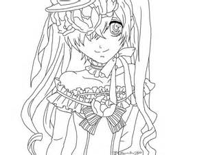 black butler coloring pages black butler ciel colouring pages coloring page lime
