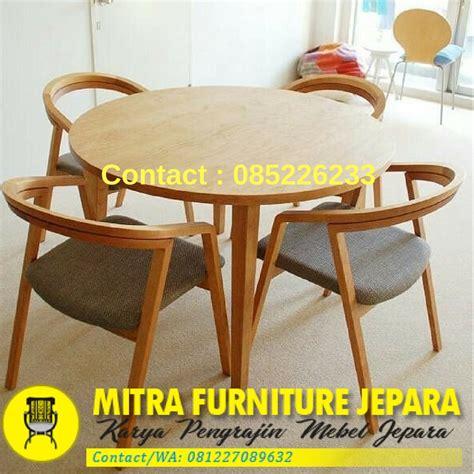 Meja Kursi Untuk Cafe meja kursi cafe minimalis terbaru mebel jati jepara