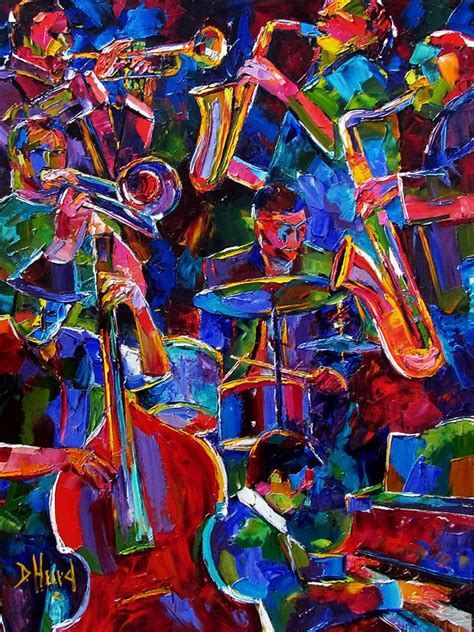 jazz artists biography daily painters abstract gallery original colorful jazz
