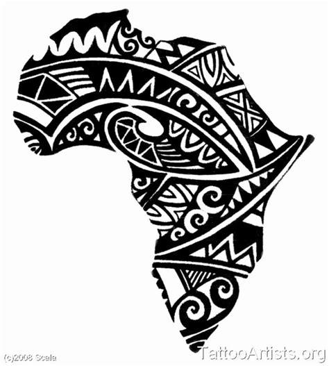 black african map tattoo design jpg 920 215 1024 ink