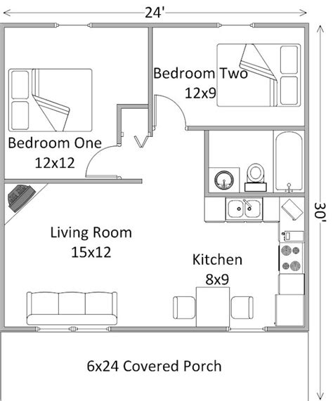 2 Bedroom Cabin Floor Plans Two Bedroom Log Cabins In The Shawnee National Forest