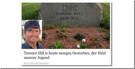 wann ist terence hill gestorben bud spencer verk 252 ndet den tod terence hill und dies