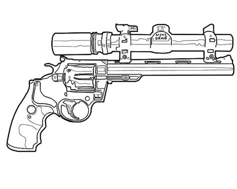 Coloring Page Gun by Army Gun Free Coloring Pages