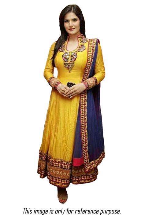 party wear anarkali suit newhairstylesformen2014 com bollywood style zarine khan cotton party wear anarkali