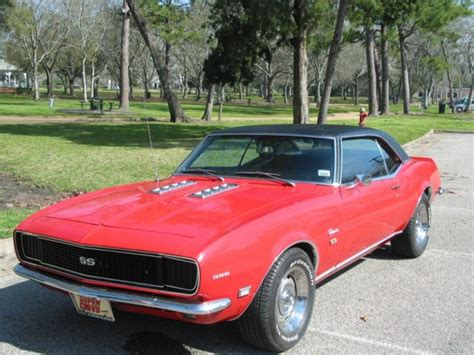 68 rs camaro for sale 68 camaro rs ss 325hp 396 for sale