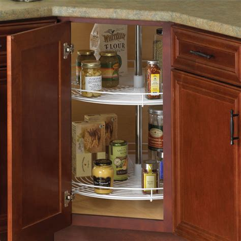 Kitchen Cabinet Hardware Lazy Susan Knape Vogt 2 Shelf Wire Lazy Susans For