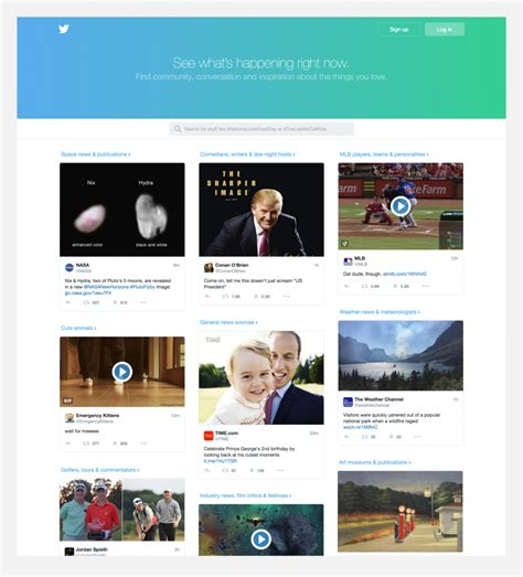 twitter layout app twitter talks about the design of its universal app for