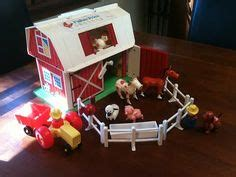 Fisher Price Barn Door When I Was 70s 80s On Fisher Price A