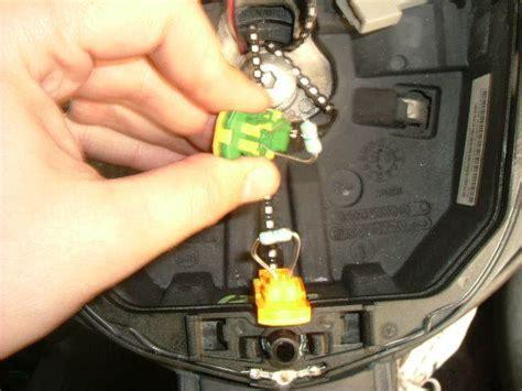 clio airbag resistor fix how to remove 182 steering wheel cliosport net