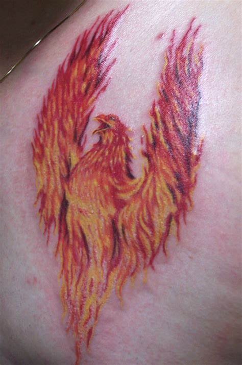 phoenix tattoos for men meaning bird meaning