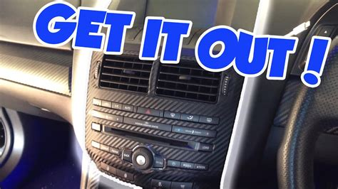remove ford fg icc head unit youtube