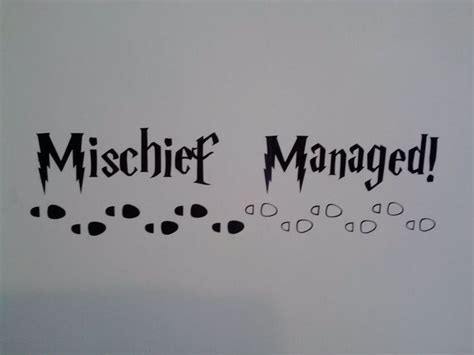 mischief managed tattoo 25 best ideas about mischief managed on