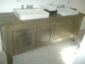 reclaimed wood bathroom vanity contemporary bathroom