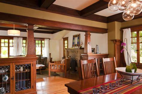 bali construction craftsman dining room san