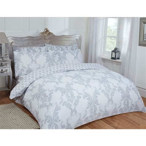 grey damask comforter damask double duvet set twin grey bedding b m