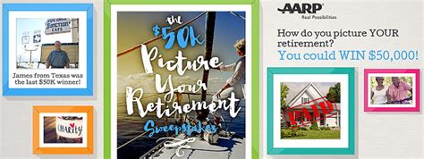 Aarp 50000 Retirement Giveaway Sweepstakes - enter the aarp 50k picture your retirement sweeps totallytarget com