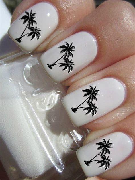 Palm Tree Nail Sticker palm tree nail decal best nail designs 2018