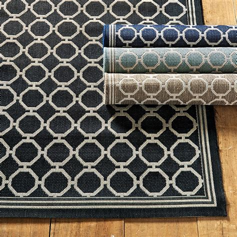 Ballard Designs Outdoor Rugs Bermuda Indoor Outdoor Rug