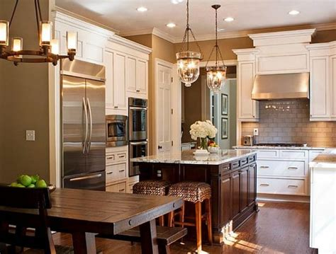 beautiful kitchen cabinets 25 beautiful kitchens with dining tables page 2 of 5