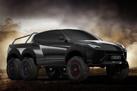 Lamborghini Urus 6x6 Concept Hiconsumption