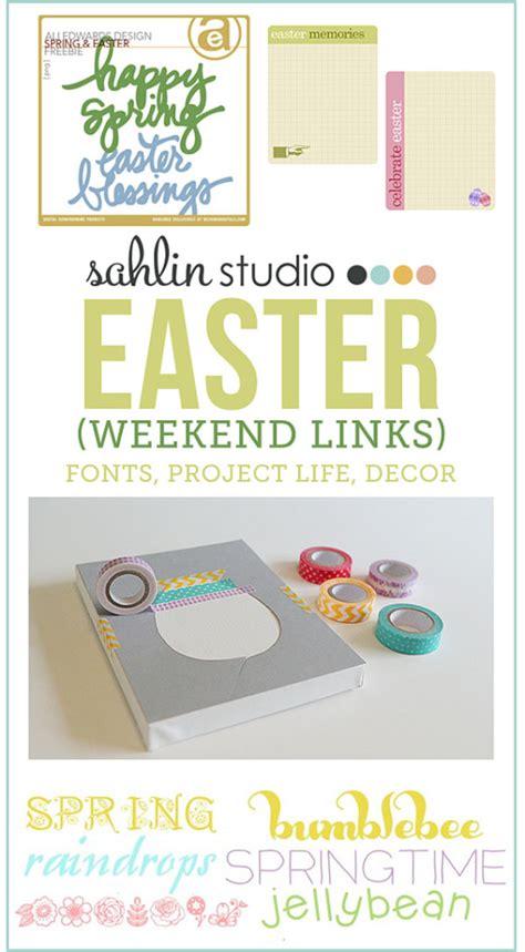 Weekend Links by Weekend Links Easter Edition Sahlin Studio Digital