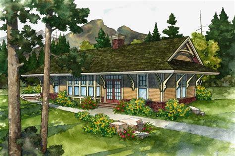 railroad house plans cabins inspired by railroad depots lookouts time to build
