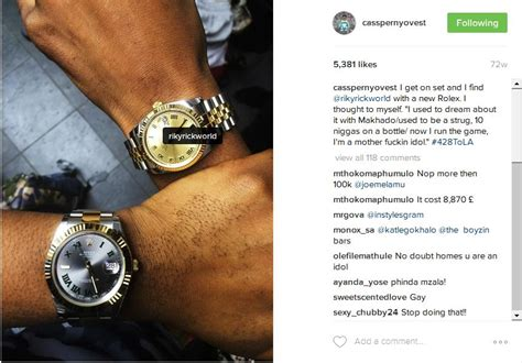 sa and their expensive luxury watches africamv