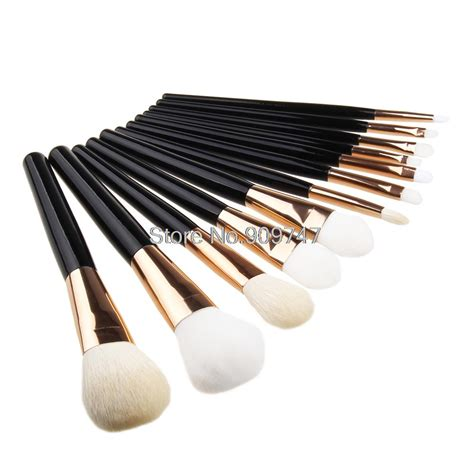 Professional Blending Brush 12pcs blending makeup brush kit professional cosmetic goat