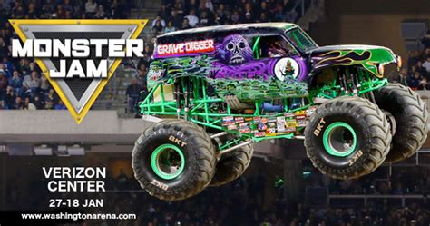 monster truck show verizon center monster jam tickets 27th january verizon center at