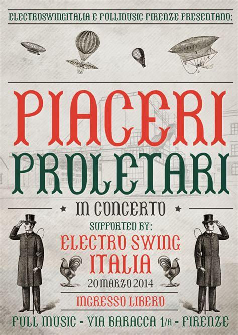 electro swing italia 20 marzo 2014 electro swing italia feat piaceri