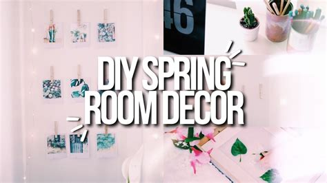 cute home decor for cheap diy spring room decor 2017 cute easy cheap youtube