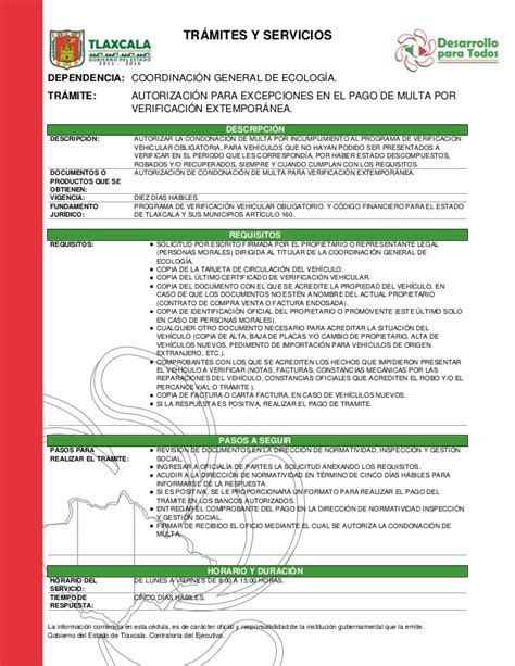 formato tenencia edo mex pago de multa verificacion estado de mexico
