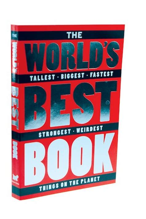 Best Book In The World by The World S Best Book Scholastic Club