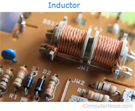 use of inductor in computer what is a coil
