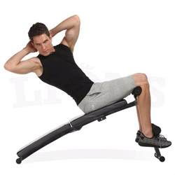 weighted bench crunch sit up folding bench abs crunch weight bench home gym