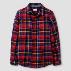 l target boys long sleeve button down flannel shirt cat jack red l target